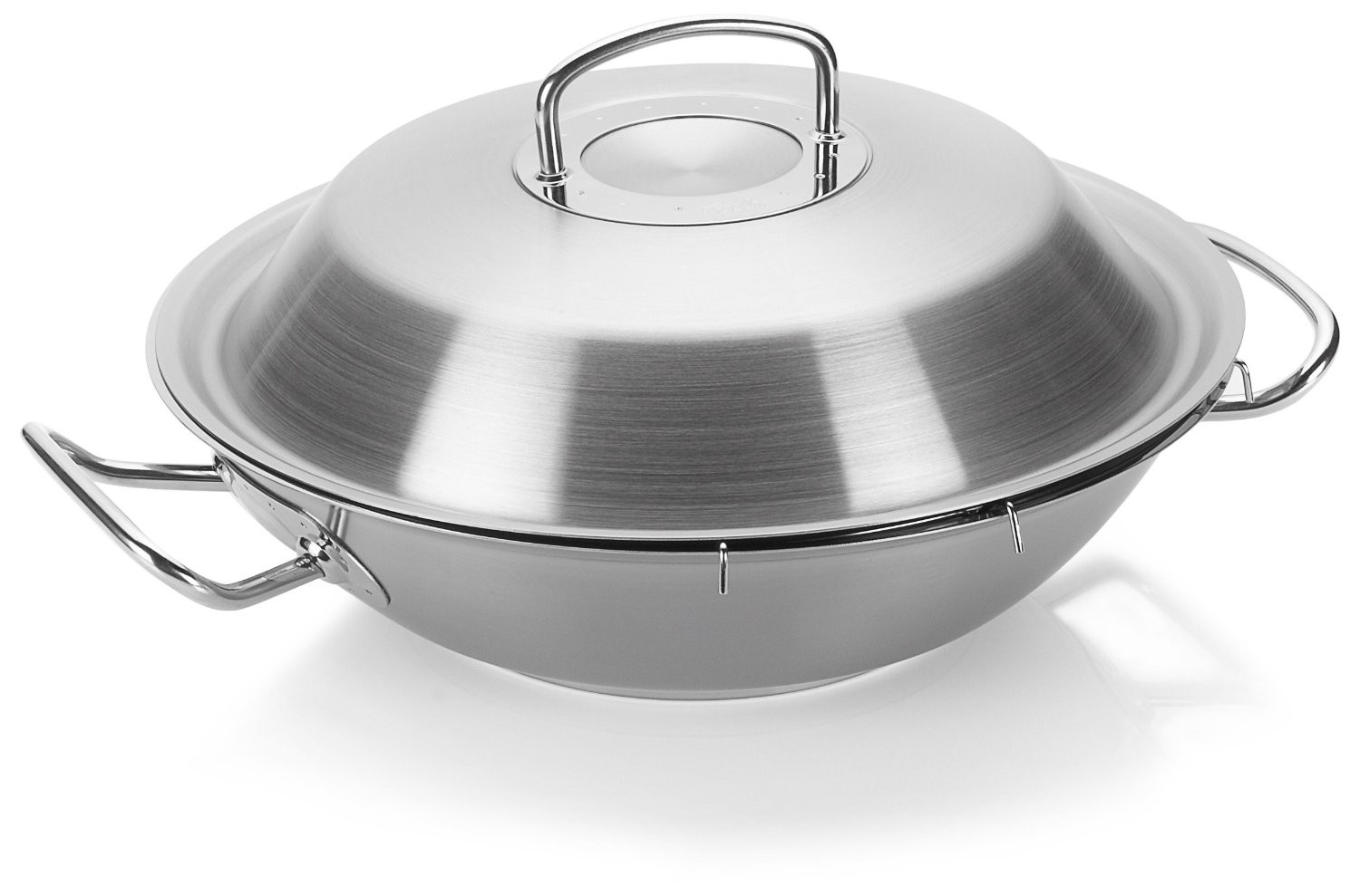 Fissler original-profi collection® Wok mit Metalldeckel 30 cm