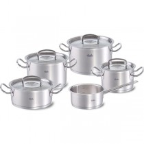 Fissler original-profi collection Topf-Set 5-tlg., (3 KT, 1 BT, 1 Stielkasserolle)