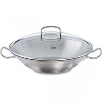 Fissler original-profi collection Wok mit Glasdeckel 35 cm