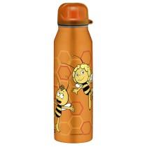 Alfi Isolier-Trinkflasche isoBottle Biene Maja orange